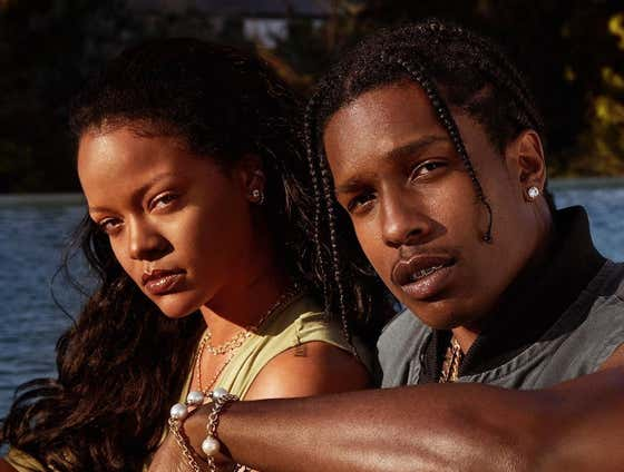 If A$AP Rocky & Rihanna Are Actually Dating They're the Hottest Couple in the World