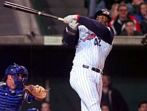 Wake Up With Mo Vaughn Hitting A Mariano Rivera Pitch A Lonnnnng Way