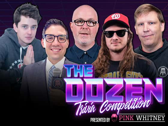 Heated Trivia Battle Filled With Complaining, Anger, And Tons Of Points (The Dozen presented by Pink Whitney: Episode 064)