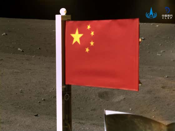 China Planted Their Flag On The Moon Which Means They Planted Their Flag Directly In America's Eyeball