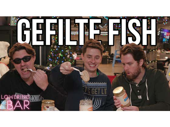Barstool Celebrates Hanukkah With Gefilte Fish