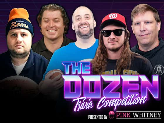 Can The DEFEATED 0-6 Team Ziti Snap Their Trivia Losing Streak? (The Dozen presented by Pink Whitney: Episode 066)