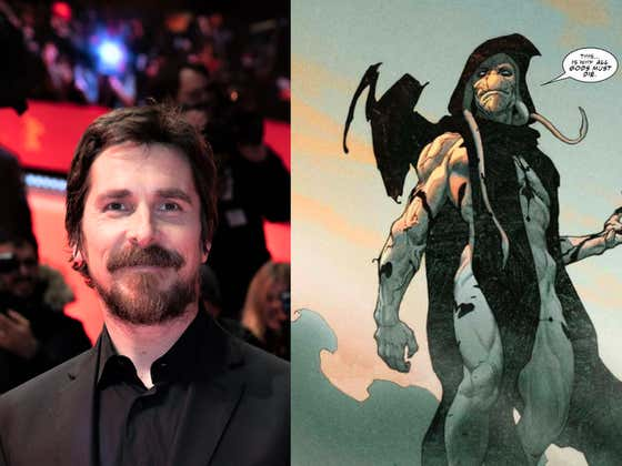 Christian Bale Is OFFICIALLY Joining 'Thor: Love and Thunder'