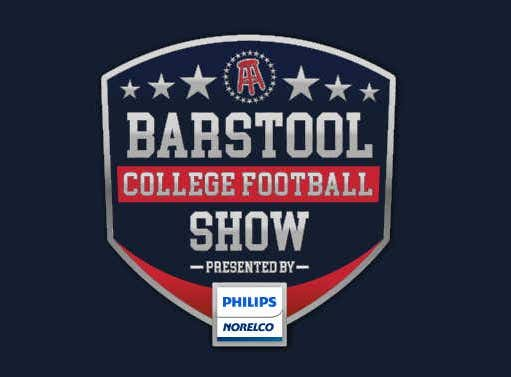 Barstool College Football Show presented by Philips Norelco - Week 15