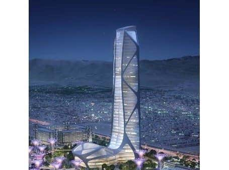 The Las Vegas of the Future Will Include a 'Banana-Shaped' High Rise. Yeah, That's It. Banana-Shaped.