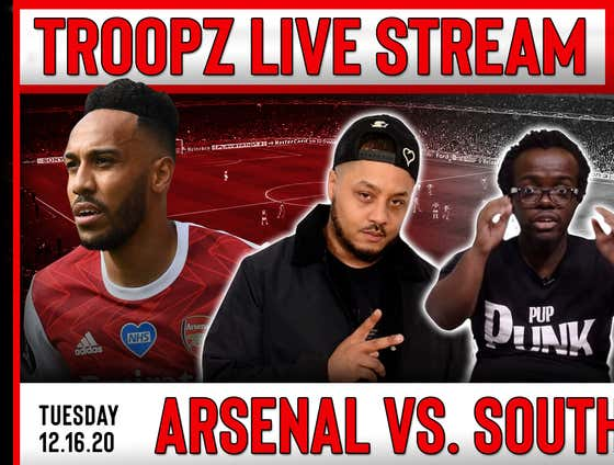 FULL STREAM: ARSENAL VS SOUTHAMPTON W/ TROOPZ AND ZAH