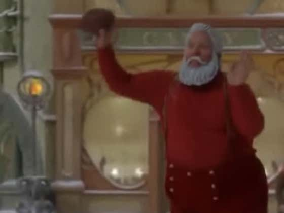 People Forget That Santa Had The Greatest Strip Sack In Football History During The Football Game In Santa Clause 2