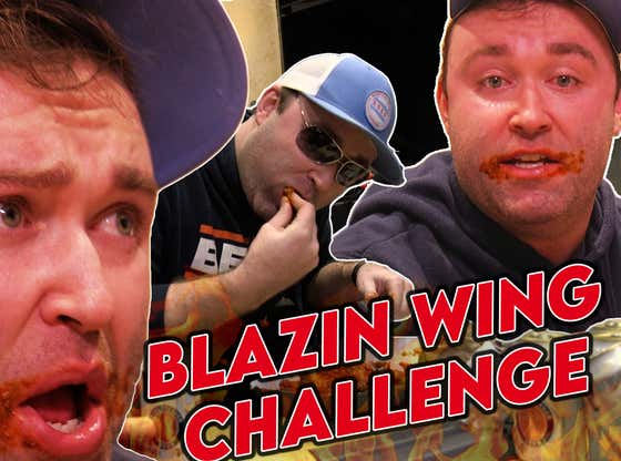"Stoolgating Episode XILXVX: I Attempted The BWW ""Blazing'"" Challenge: 12 Of The Hottest Wings On The Planet"