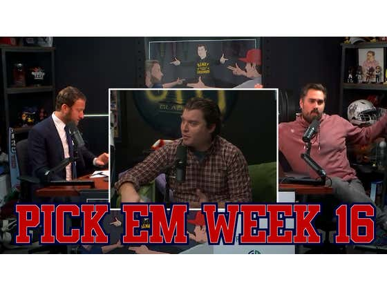 """""""I Don't Want Your Gift"""" - Barstool Pick Em Week 16"""