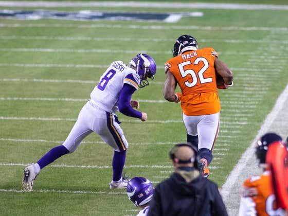Bears At Vikings - Loser's Season Is Over - Live Blog