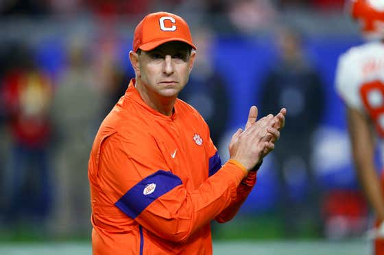 Dabo Swinney Said He'd Quit Coaching If College Athletes Ever Got Paid. Well, Today's the Day, Pal