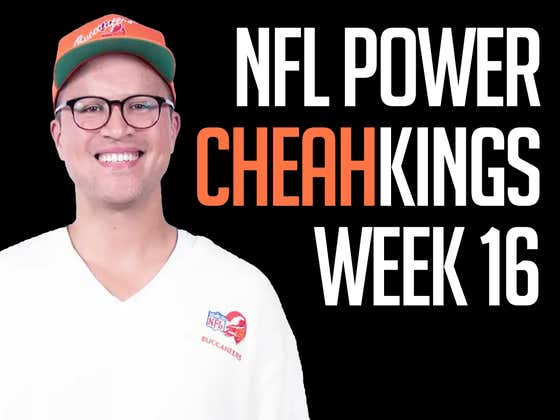 NFL Power Cheahkings - Week 16 Edition