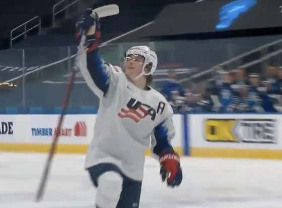If This Backhand Snipeshow Is Any Indication, Cole Caufield Is Going To Rule These World Juniors