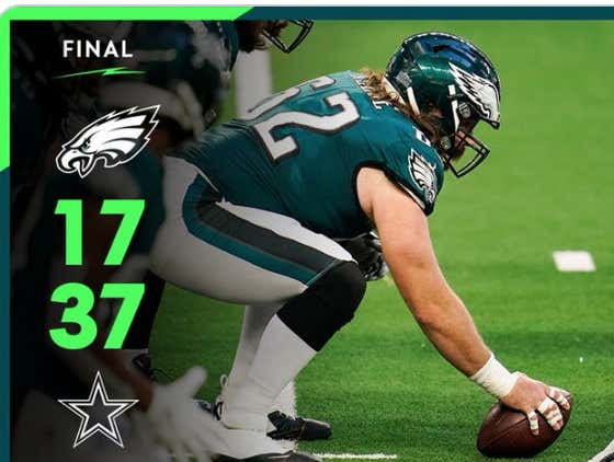 Eagles Get Embarrassed By Dallas And The Season Is Officially Over