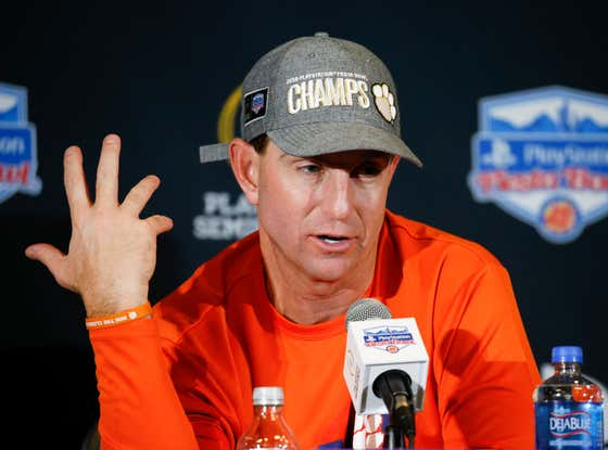 """Morally Superior Dabo Swinney Says """"It's Not Always Easy To Do The Right Thing"""" When Ranking Ohio State #11, And He Could Probably Run For The Governor Of Michigan"""