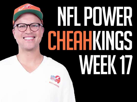 NFL Power Cheahkings - Week 17 Edition