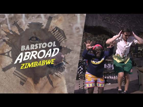 Best Of 2020: Barstool Abroad- Donnie And Zah In Zimbabwe