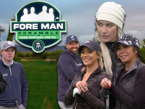 Paige Spiranac & co. vs The Fore Man Scramble (Grayhawk Golf Club)