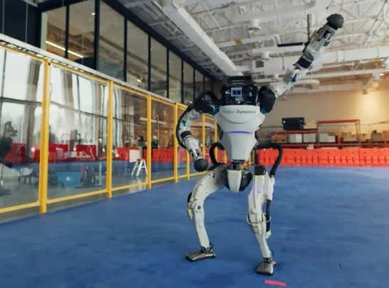 Video: Boston Dynamics' Newest Robots Rehearse Dancing on Our Mass Graves