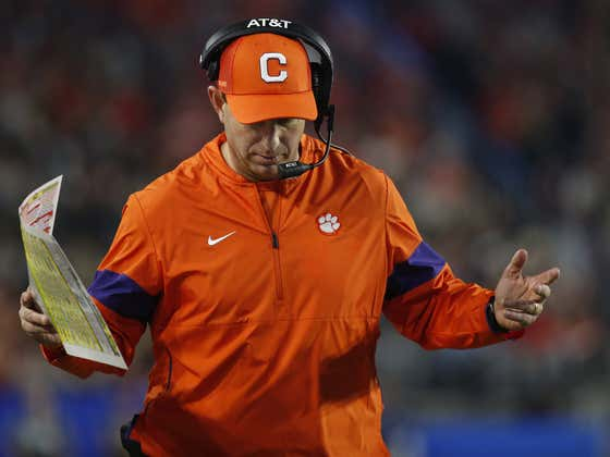 DABOOOOOO, Is The 11th Best Team In The Country Beating You 35-14 At The Half?