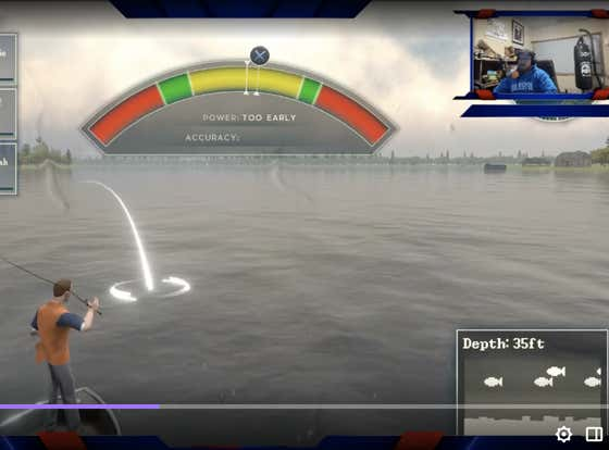 It Should Be Wayyyyyyyy Easier To Cast In Rapala Pro Series Fishing On PlayStation4