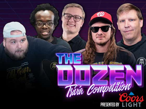 First Trivia Match Of 2021 As The Road To The Dozen Tournament Begins (The Dozen presented by Coors Light: Episode 071)