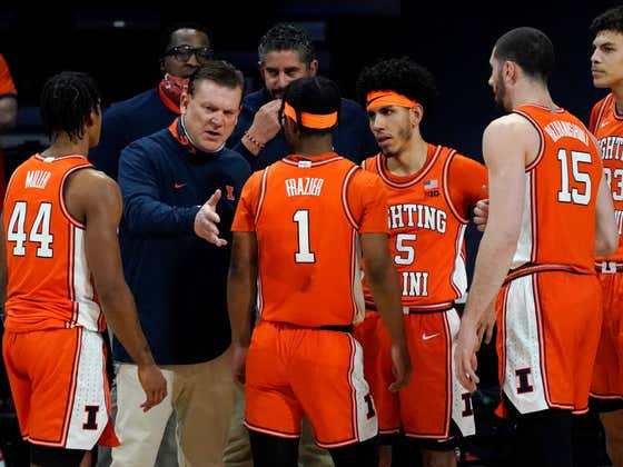 Illinois Beat The Absolute Shit Out Of Northwestern Tonight