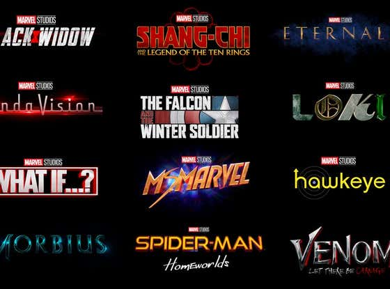 Here's All The Movies/TV Shows You Could Expect From Marvel/DC/Star Wars in 2021