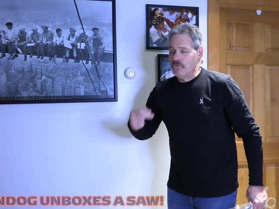 Longtime Toolies: Vindog Unboxes A New Table Saw