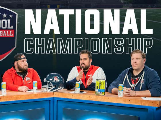Barstool College Football Show presented by High Noon - Championship Preview