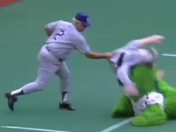 RIP Tommy Lasorda - Flashback At When The Dodgers Legend Ragdolled The Phanatic