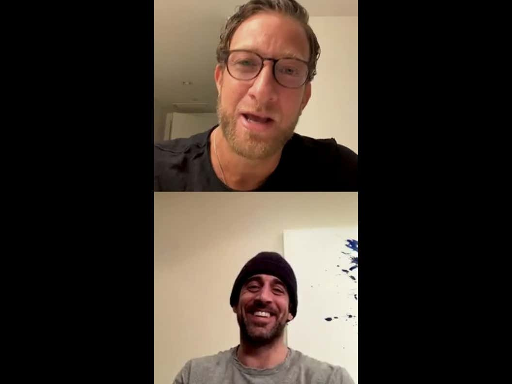"""Aaron Rodgers Says The Barstool Fund """"Has A Message Of Hope And Love That Nobody Else Is Offering"""" And Is Officially Onboard!!!"""