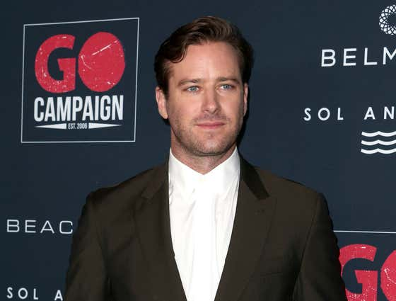 Armie 'The Cannibal' Hammer Claims He's Being 'Kink-Shamed by the Internet,' but Women Have Hit Him Up Saying 'I Can Eat Pieces of Them'