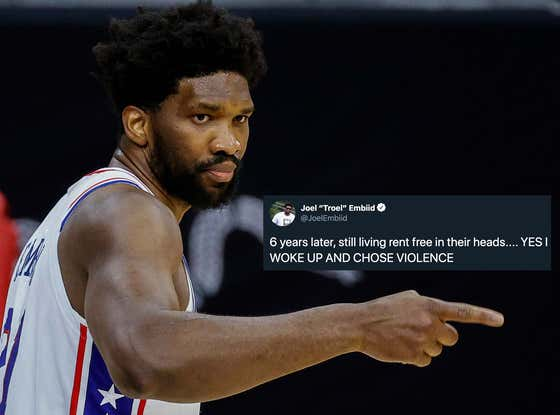 """""""I Woke Up And Chose Violence"""": The NBA Is Going To Rue The Day They Crossed Joel Embiid"""
