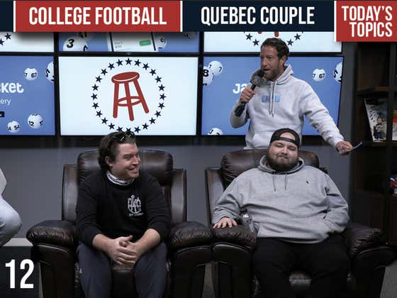 Barstool Rundown - January 12, 2021