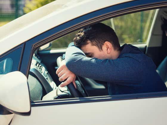 According To Harvard, An Estimated 250,000 Fall Asleep Behind The Wheel EVERY SINGLE DAY