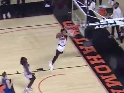 Anyone Who Has A Problem With Oklahoma State's Bryce Williams Throwing Down A Self Alley-Oop At The Buzzer Is An Absolute Loser