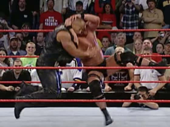 There's Nothing Better Than A Perfectly Sold Stone Cold Stunner
