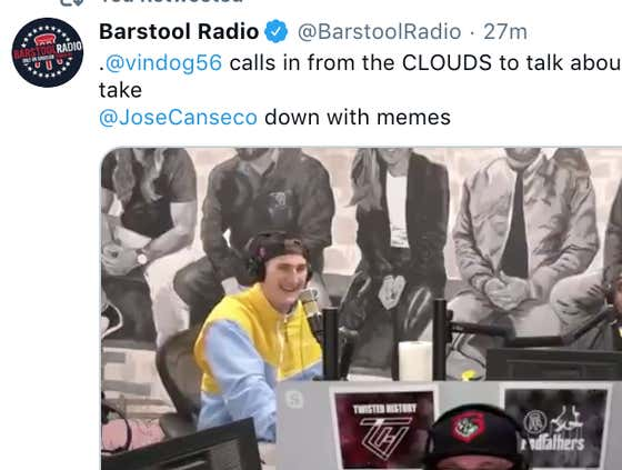 Breakfast Recap: Vin Dog Calls In From The CLOUDS To Explain How He's Going To Kill Jose Canseco With Memes, Billy Football, and Steven Cheah VS Ben Mintz