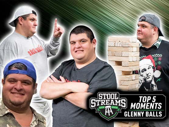 Stool Streams Top 5 Moments | The Best Of Glenny Balls