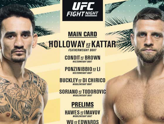 UFC Kicks Off A Triple Header Week On Fight Island With An Awesome Card On ABC Today