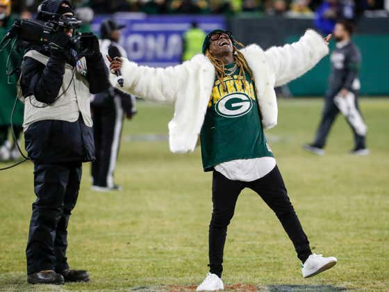Lil Wayne Dropped a New 'Green and Yellow' Packers Hype Song Before Today's Playoff Game And It's Fire
