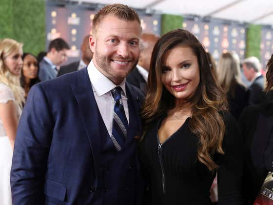 Sean McVay's Fiancee Made Sure To Remind The World Right Before The Rams Game That He's Living A Dream Life