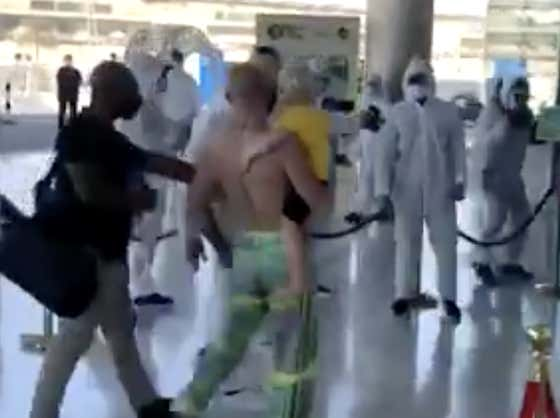 Conor McGregor Has Arrived On Fight Island
