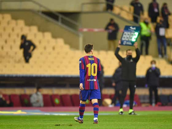 Need Messi To Turn Full Heel After Spanish Media Demanded He Apologize For Getting A Red Card