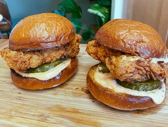 Popeyes Fried Chicken Sandwich