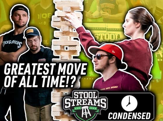 Stool Streams CONDENSED: Kelly Martin With The Greatest Move Ever vs Nick & Rudy