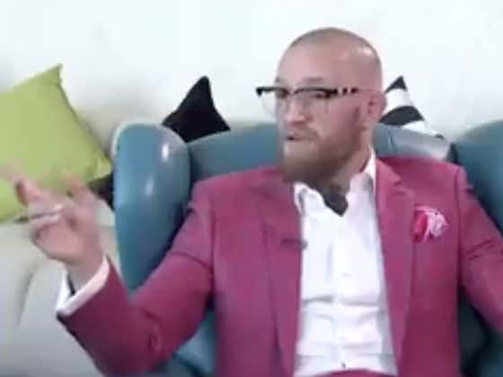 Conor McGregor Hilariously Spots Max Holloway Skateboarding Past One Of His Interviews