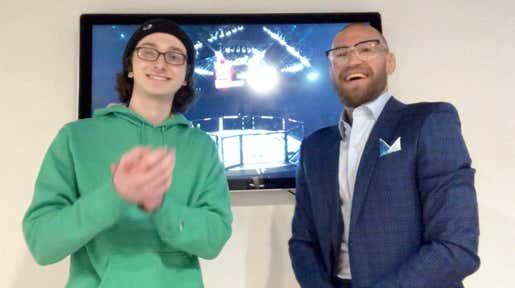 I Just Interviewed Conor McGregor