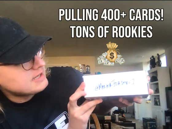 Opening A Box of Over 400 Sports Cards With A Ton Of Rookies
